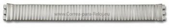 Correa de acero inoxidable extensible-mate-18mm-para Swatch